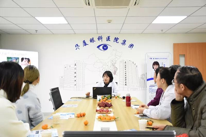 厦门眼科中心漳州眼科医院十二月活动总结